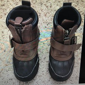 Ralph Lauren, Boy Colbey Leather Mid Boots